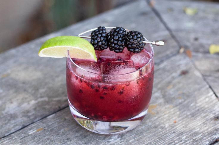 You want a mezcal cocktail. You like blackberries. You're in luck. Go on with your bad self and enjoy this cocktail.
