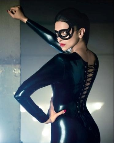 Deepika Padukone's Stills From GQ Magazine August 2012 Photoshoot. | Bollywood Cleavage