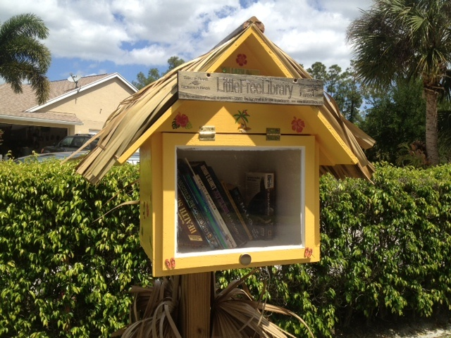I would love to have some of these located around campus. It encourages reading and gives us something to do with the many used, donated paperbacks!