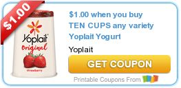 Tri Cities On A Dime: SAVE $1.75 WITH 3 COUPONS ON YOPLAIT YOGURT PRODUC...