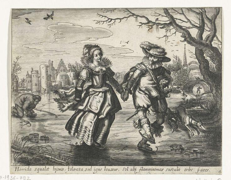 Winter, Daniël van den Bremden, 1625 - 1630