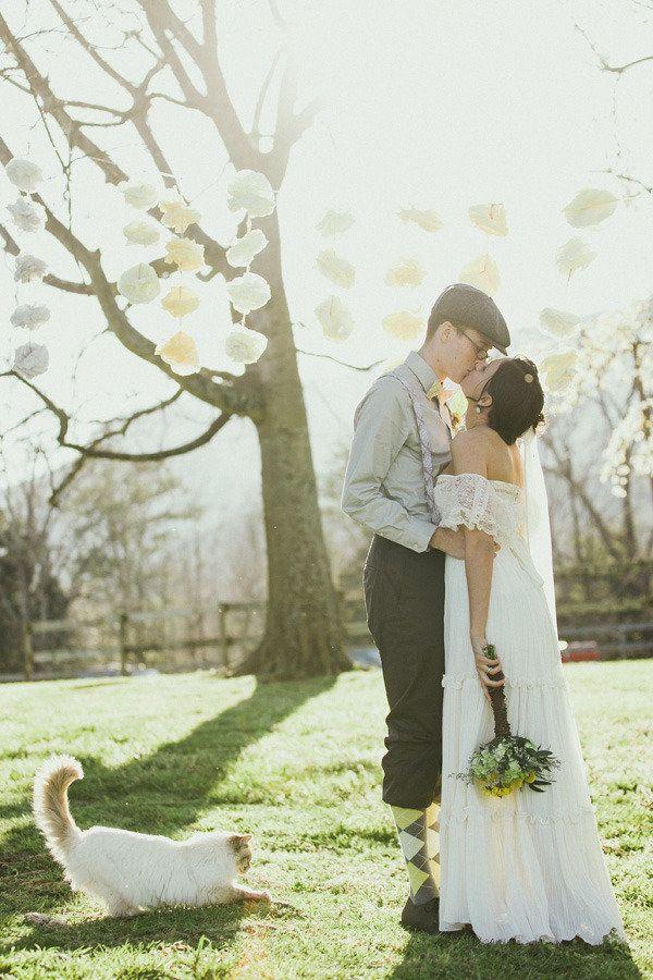 Wedding cat!!!!!