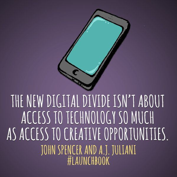 The new digital divide isn't about access to technology so much as access to creative opportunities