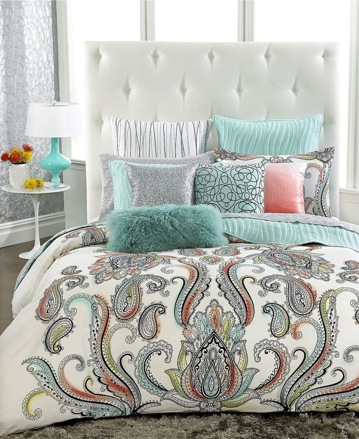 INC International Concepts Marni Bedding Collection-- can't wait to not have dogs to get this!