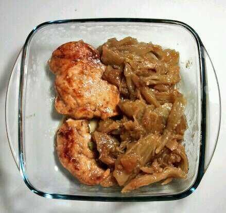 Chicken breast and fennels #inmylunchbox