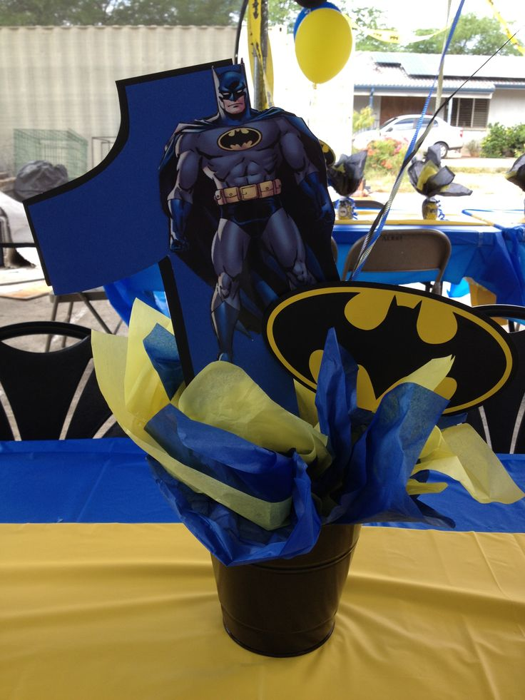 Batman Centerpieces Batman Pinterest A 4