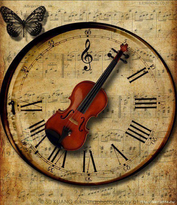 Открытки со скрипкой своими руками