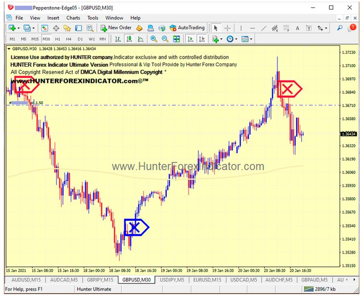 Forex trade #GBPUSD chart M30 SELL trade Example with Hunter Indicator update running based Last signal of HUNTER Ultimate Indicator for MT4. Lifetime License of HUNTER Forex Indicator. #forexsignals #forexprofits #forexindicator #forexindicators #hunterforexindicator #forexsystem #hunterindicatorforex #eurusd #gbpusd #usdcad #usdjpy #forexvolumeindicators
