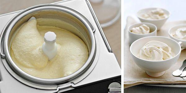 zelf vanille-ijs maken