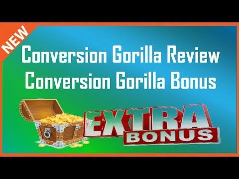 Conversion Gorilla Review | Conversion Gorilla Bonus + Demo - YouTube