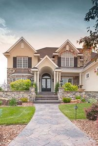 Handsome Traditional Home Plan with Sunroom - 9523RW thumb - 02