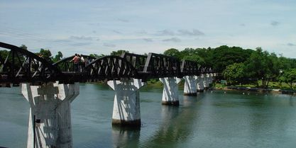 Bridge on the River #Kwai #BridgeOnTheRiverKwai #Top #ThingsToDo #MustDo #Thailand