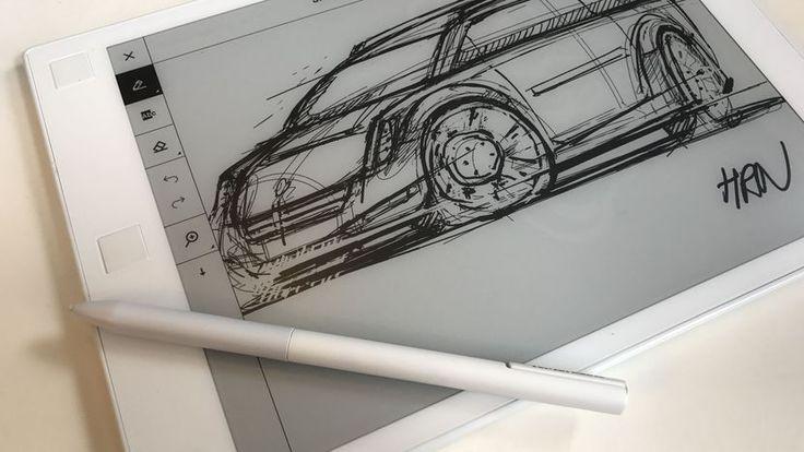 ReMarkable's lag-free e-ink sketch tablet arrives in August - CNET