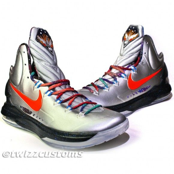 Nike KD 5 'Galaxy' Customs