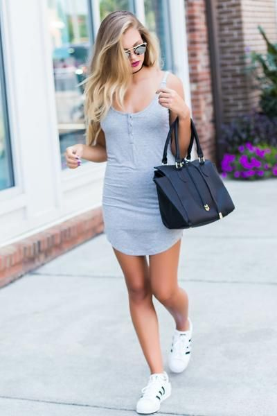 Fitted, comfy & cool, this urban dress is a must have!