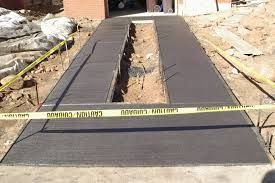 Image result for black concrete driveways