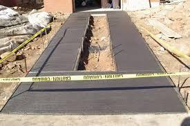 Image result for black concrete driveways