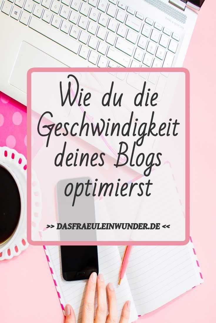 Dein Blog ist zu langsam? In diesem Blogpost erkläre ich dir, wie du die Geschwindigkeit deines Blogs optimierst.