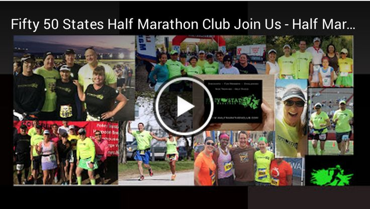 For all you Halfmarathoners out there ... Love half marathons? www.halfmarathonclub.com Join a super fun group of half marathon club members! Discounts, Annual Meet Up, Half Marathon Friends across the Nation along with Dinner & Race meet ups, Multiple Challenges to choose from, Gold Cup Trophy for 50 States and 100 Half Finishers, Crystal award for 7 Continent Finishers, Self Paced Challenges, All abilities welcome, ... walkers, joggers, runners! Join us at Fifty States Half Marathon Club!