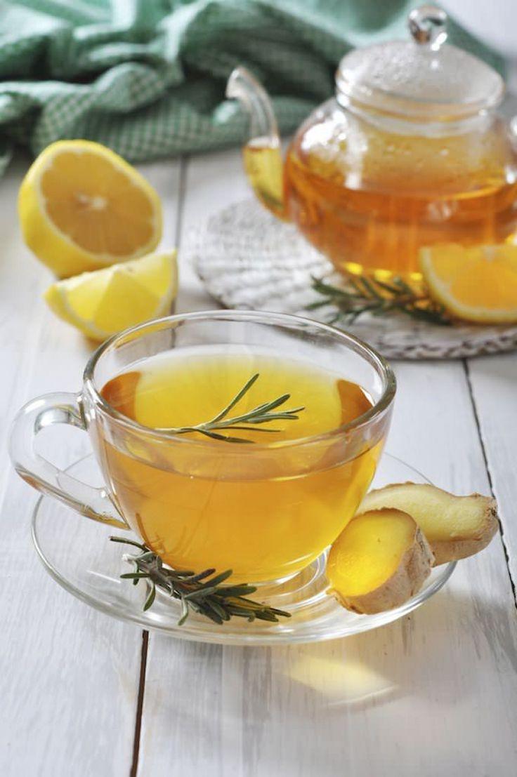 Ceai de detoxifiere cu ghimbir si turmeric. Reteta! - Andreea Raicu