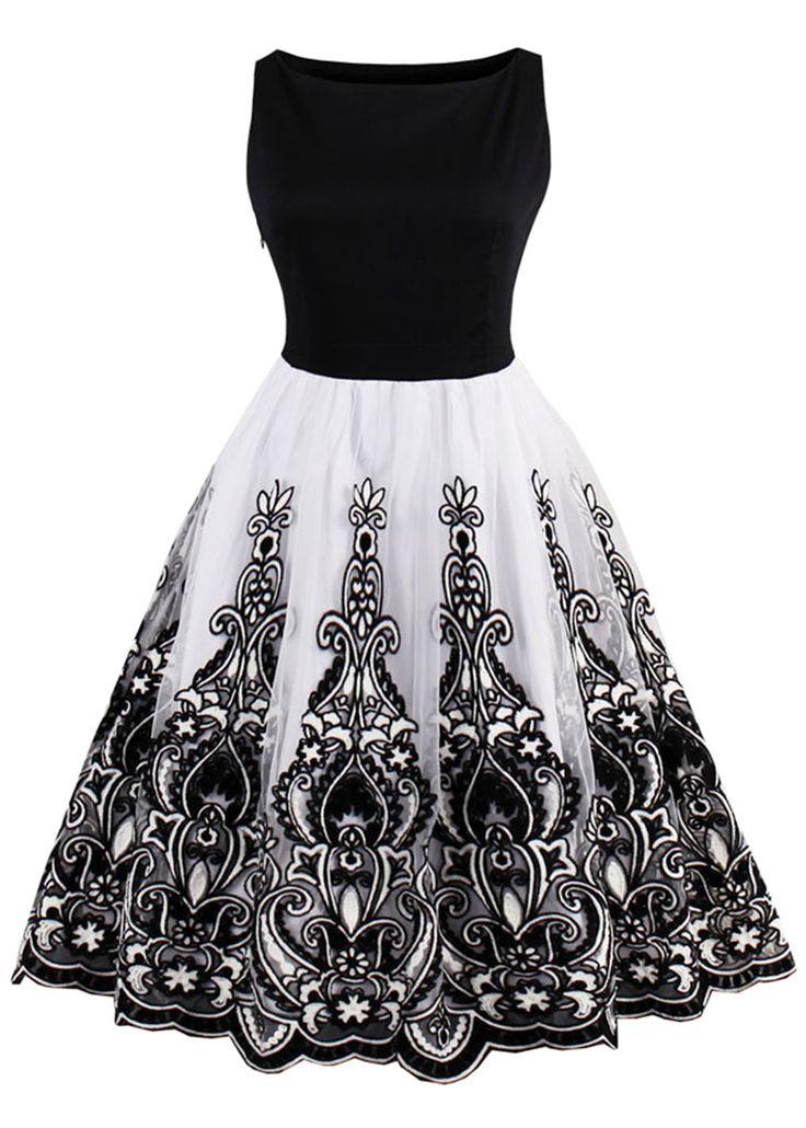 Best 25  Vintage dresses ideas only on Pinterest | 1950s dresses ...