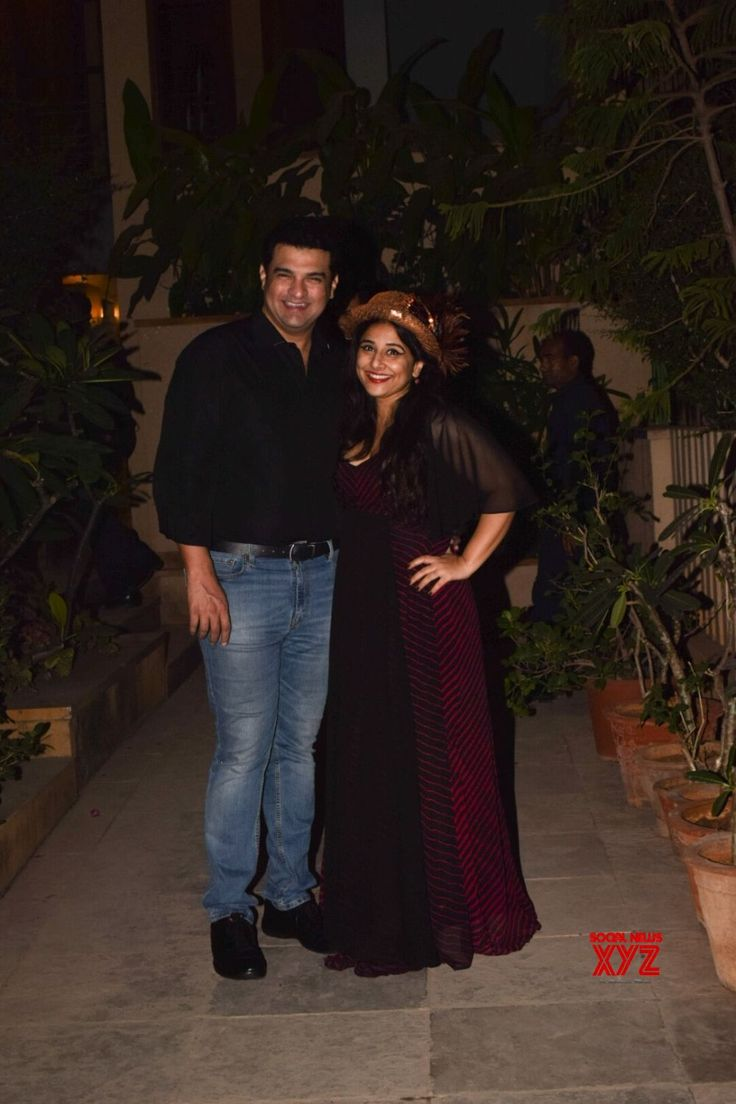 Mumbai: Vidya Balan's birthday party Siddharth Roy Kapur - Social News XYZ