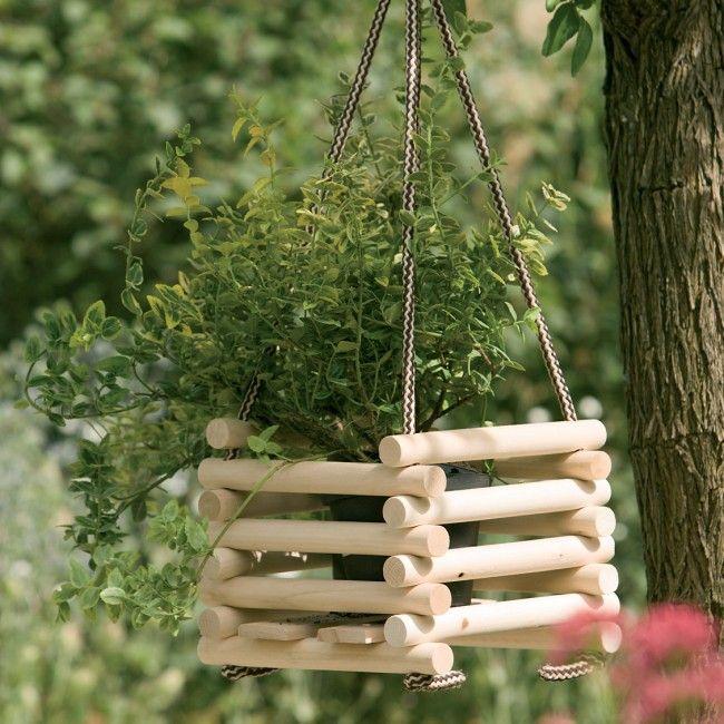 vasi decorativi per fiori di barre di legno - Поиск в Google
