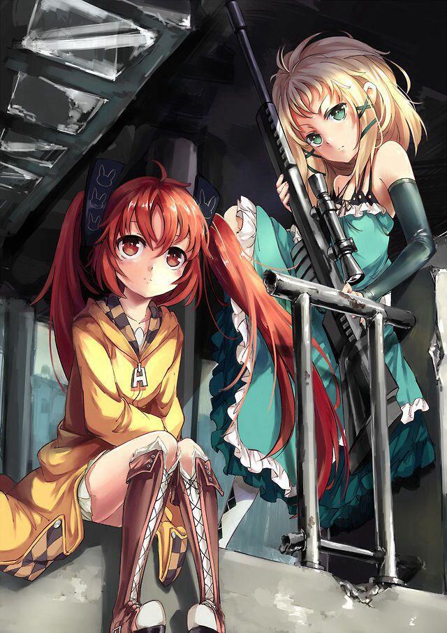 Enju & Tina | Black Bullet #anime