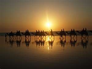 Broome at #Sunset - Perth + Western Australia