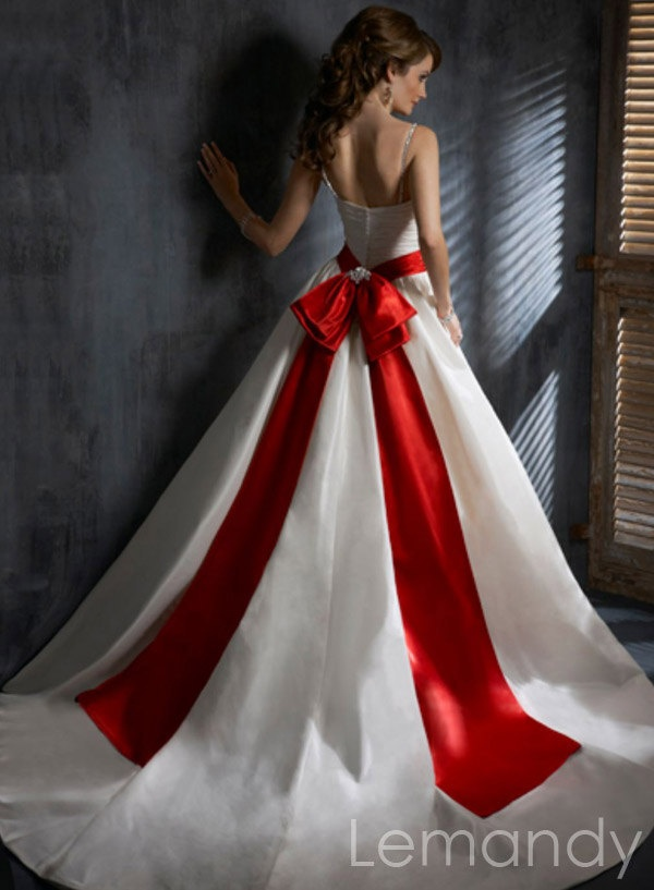 1000 images about wedding dress on pinterest blue ball for Wedding dress with red sash