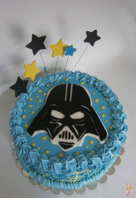 Fondant cake tutorials #3: Darth Vader cake tutorial - CakesDecor