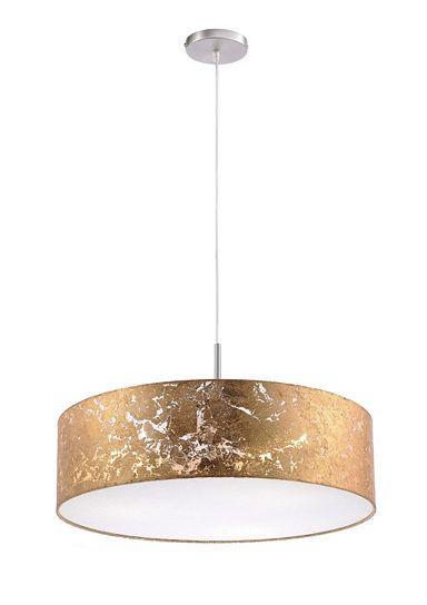 Decken-, Pendelleuchte, Paul Neuhaus. Leuchte die als Decken- oder Pendelleuchte nutzbar ist. Im Goldlook.