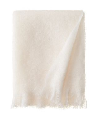 80% OFF Hinterveld Beautiful Story White Night Throw, White