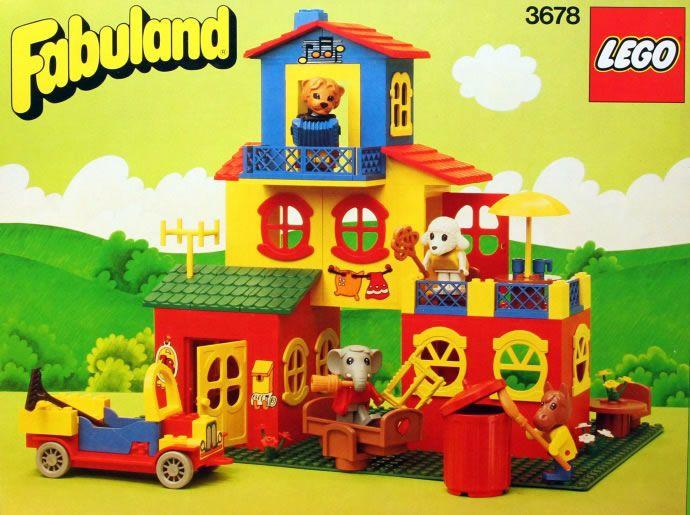 sometimes I wish i was still a kid :) Lego Fabuland