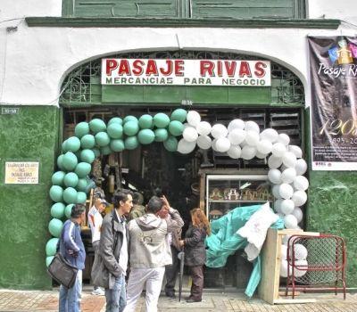 Bogota, guia todo, pasaje rivas, sitios de interes.