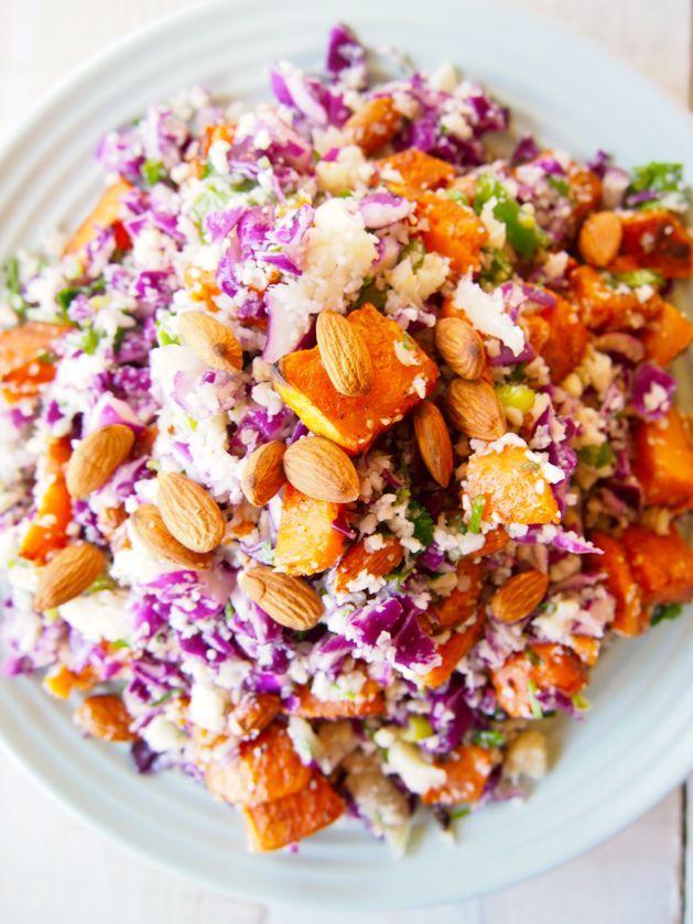 paleo cauli rice salad