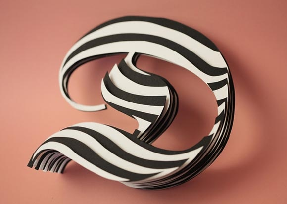 Jerome Corgier – Space Paper Typography