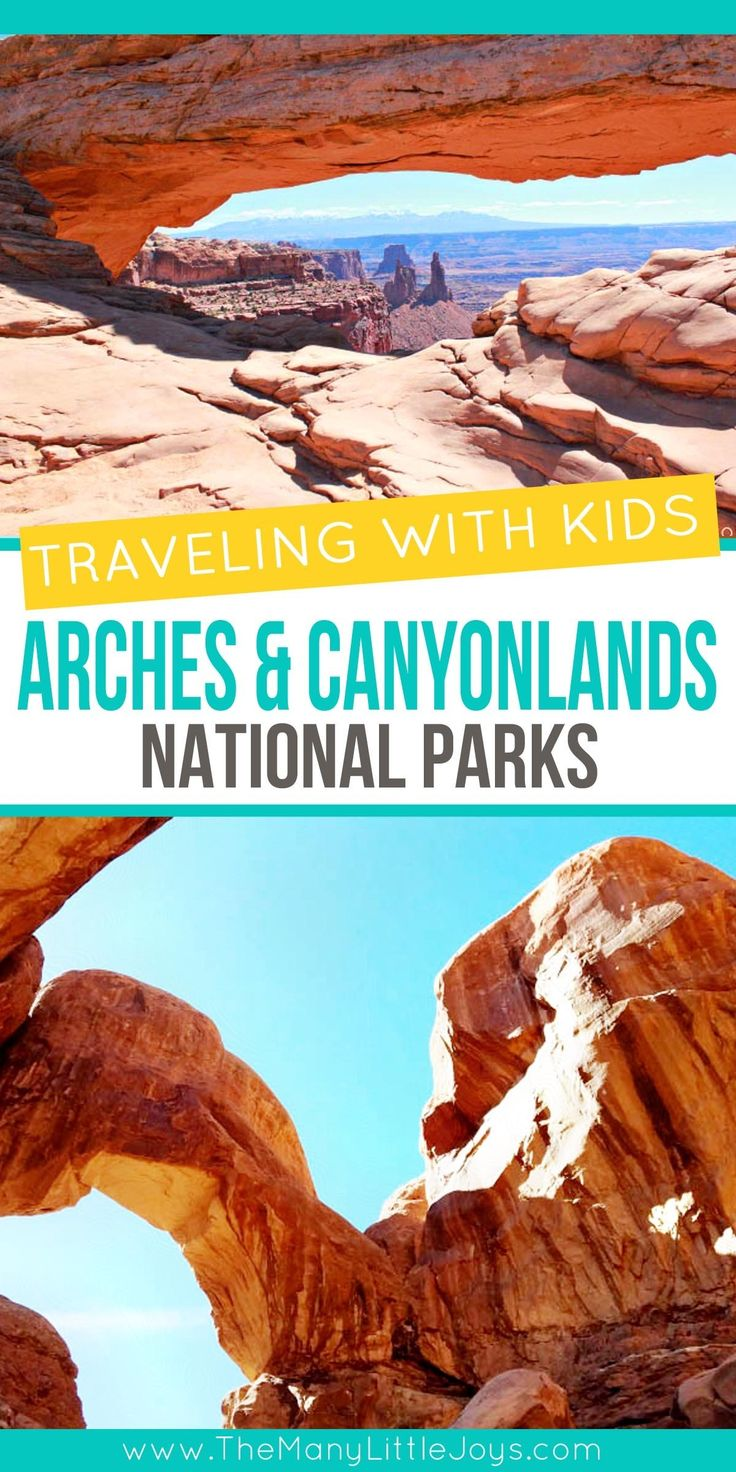 Traveling with kids: Arches & Canyonlands National Parks