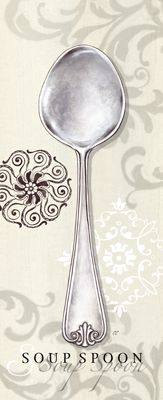 RB1664 <br> Soup Spoon Swirl <br> 10x4