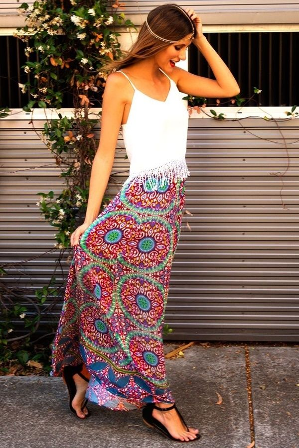 maxi skirt outfits (44)