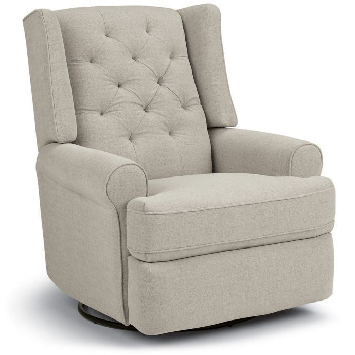 Best Chairs Storytime Series Finley Swivel Glider Recliner In