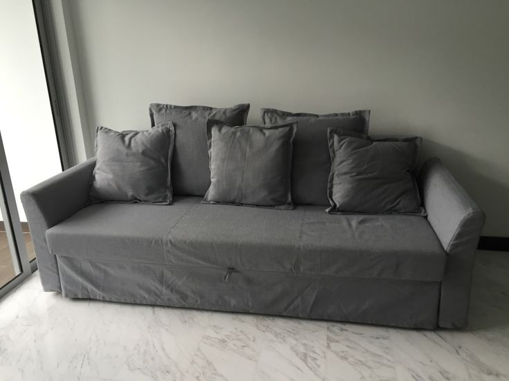 Used Ikea Holmsund 3 Seater Sofa Bed For Sale In Singapore
