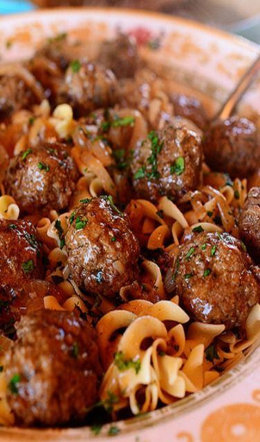 Pioneer Woman's Salisbury Steak Meatballs
