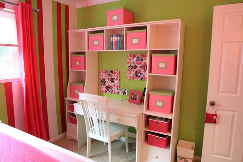 Teen Girl Bedroom by Space Appeal Interiors, via Flickr  for Olivia without the pink