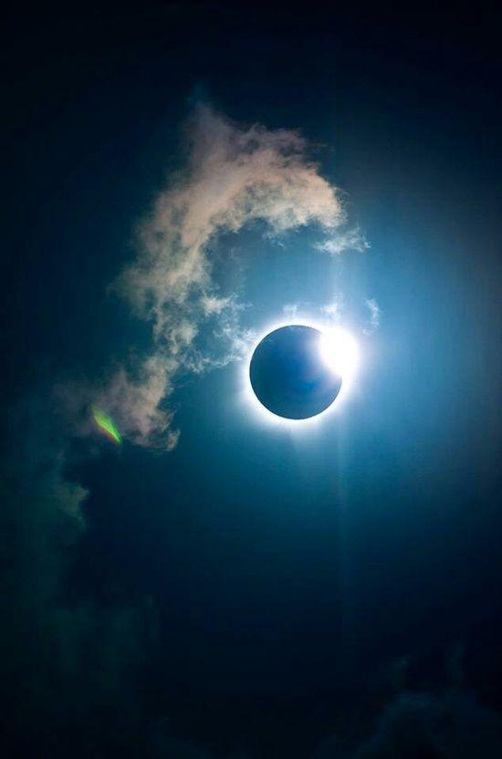 Amazing view, Solar Eclipse, Moon