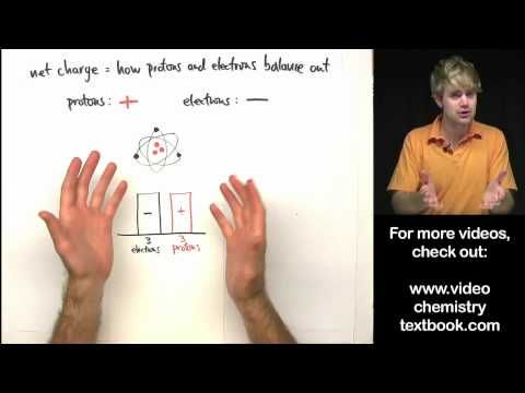 ▶ Atomic Number, Mass Number, and Net Charge - YouTube For Grade 8