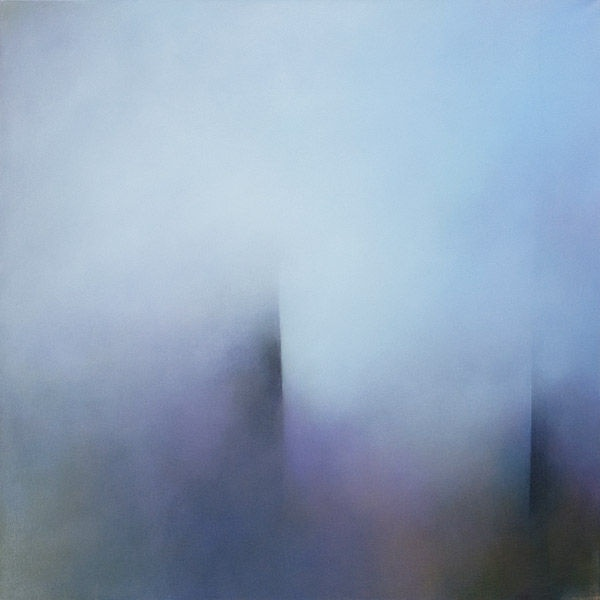 Through the Nab, acrylic painting on canvas 100cm x 100cm by Tina Mammoser #painting #art #coast #abstract