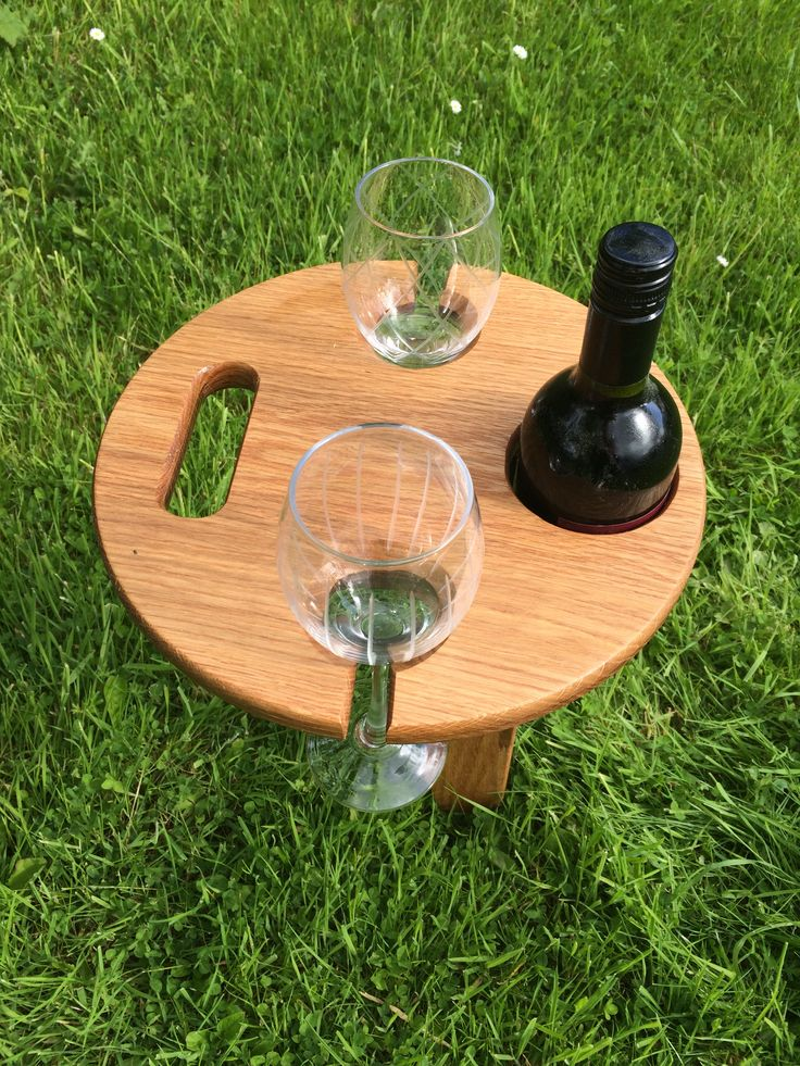 Folding Wine-Beach/Picnic-Table