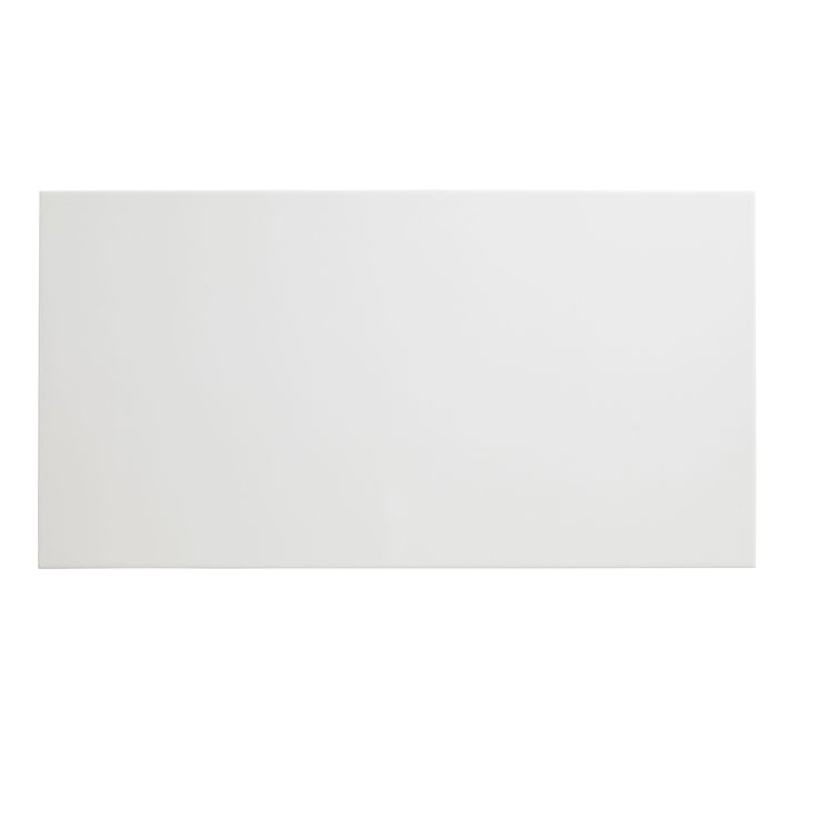 Perouso White Gloss Ceramic Wall Tile Pack Of 6 L 600mm