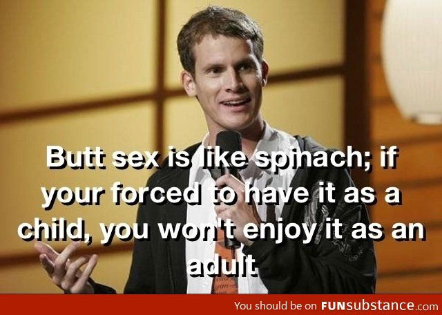 Classic Daniel Tosh! Dear Lord that's terrible....but I'm still laughing